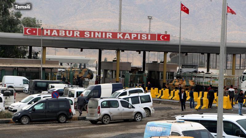 Türkiye'den Irak'a giriş-çıkışlar durduruldu