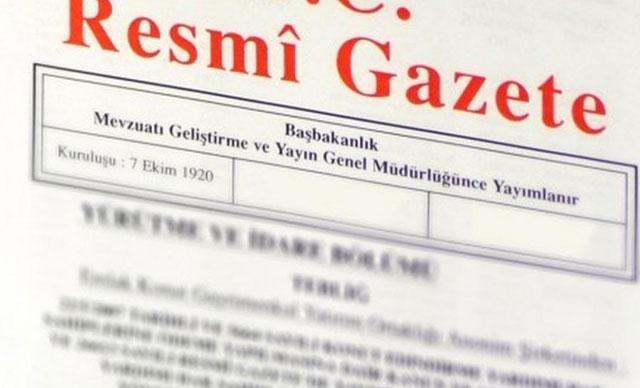 Anayasa'daki değişikliklere uyum KHK'sı yayımlandı