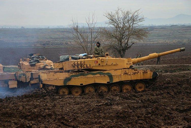 Afrin Harekatı'nda 23. Gün: Hacı İskender Köyü ele geçirildi
